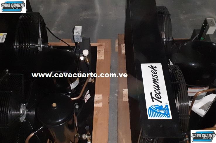 UNIDAD CONDENSADORA 5HP TECUMSEH FRANCES R404 SELLADO - DELTA