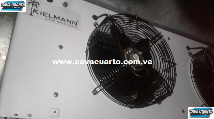 DIFUSOR / KIELMANN 3HP - EVAPORADOR / SUMINISTRO CAVA CUARTO - IAIM