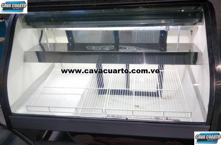 NEVERA EXHIBIDORA - CAVA CUARTO SERIES - CENTRO