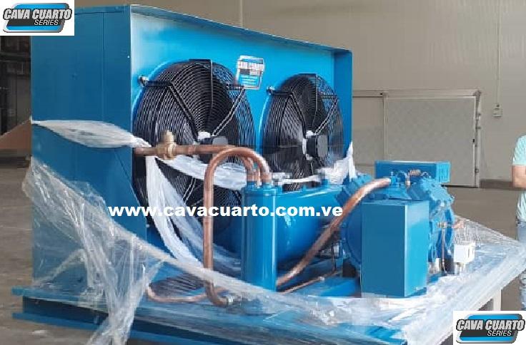 UNIDAD CONDENSADORA 20HP FRASCOLD R134 / R404 SEMI-HERMETICO - FABRICA DE ALIMENTOS
