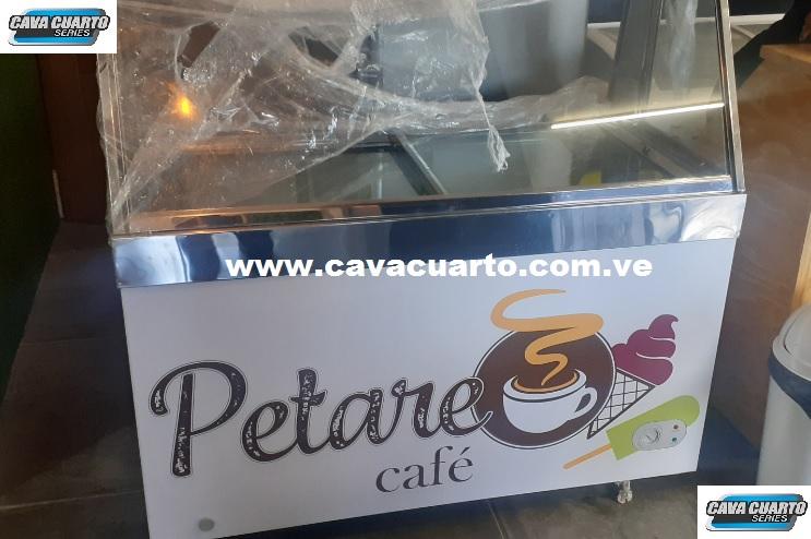 NEVERA PALETERA EXHIBIDORA HELADOS - CAFE P