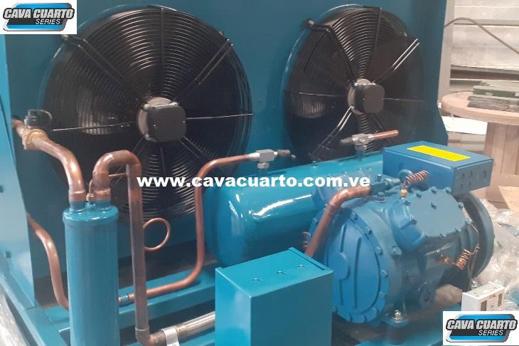 UNIDAD CONDENSADORA 15HP FRASCOLD R134 / R404 SEMI-HERMETICO - FABRICA DE ALIMENTOS