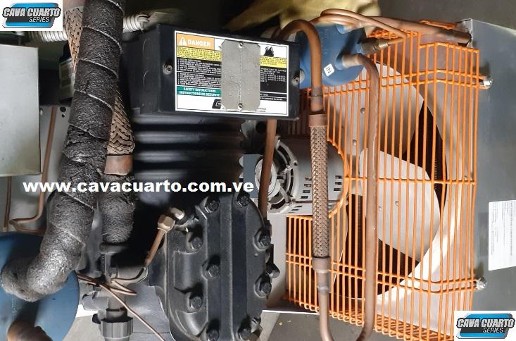 UNIDAD CONDENSADORA 1.5 HP COPELAND R134 / SEMI-HERMETICO - CARNICERIA