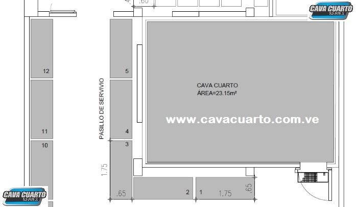 CAVA CUARTO INDUSTRIA ALIMENTICIA - MRDA 2