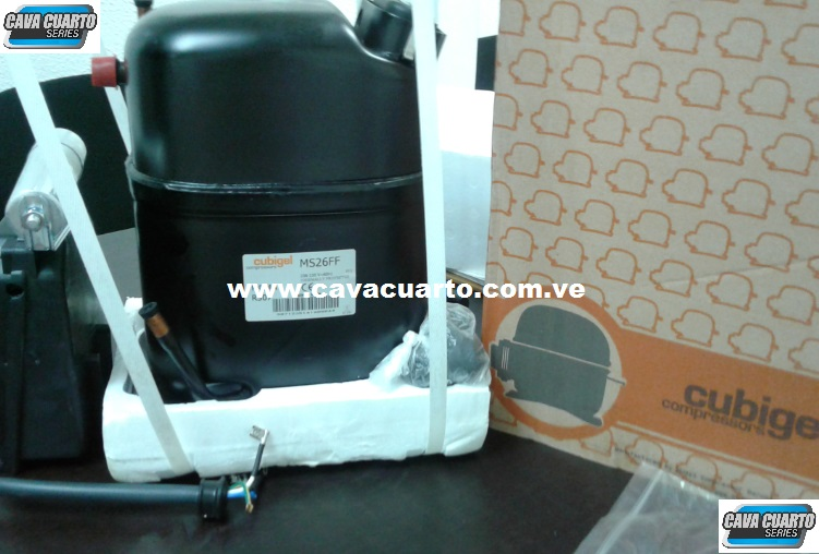 COMPRESOR CUBIGEL 1 HP / R404