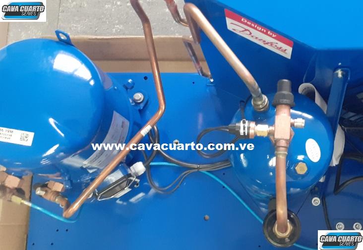UNIDAD CONDENSADORA 3HP DANFOSS R404 HERMETICO / FRIGORIFICO