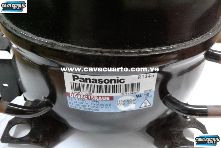 COMPRESOR 1/3 HP PANASONIC - REFRIGERACIÓN R134