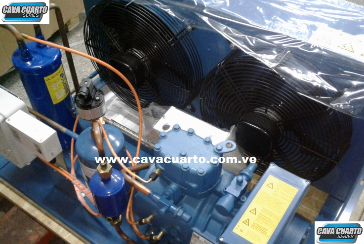UNIDAD CONDENSADORA 3HP FRASCOLD R134 / R404 SEMI-HERMETICO ALI MED