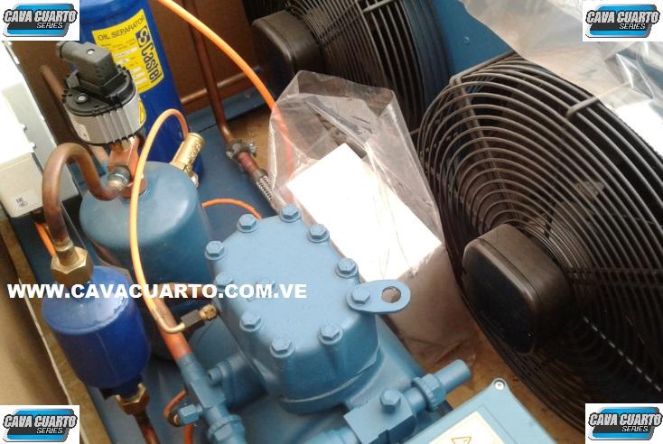 UNIDAD CONDENSADORA 3HP FRASCOLD R134 / R404 SEMI-HERMETICO 1