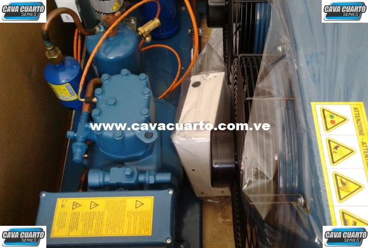 EQUIPO FRASCOLD / 3HP - SUMINISTRO CAVA CUARTO - C.D 2 CONDENSADORA