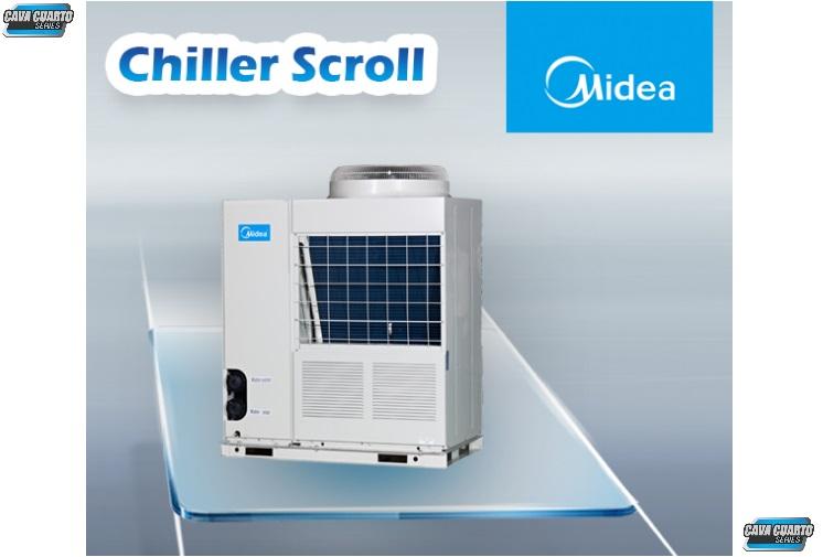 CHILLER SCROLL UNIDAD EXTERNA / AGUA HELADA / 8.5 A 51 TR