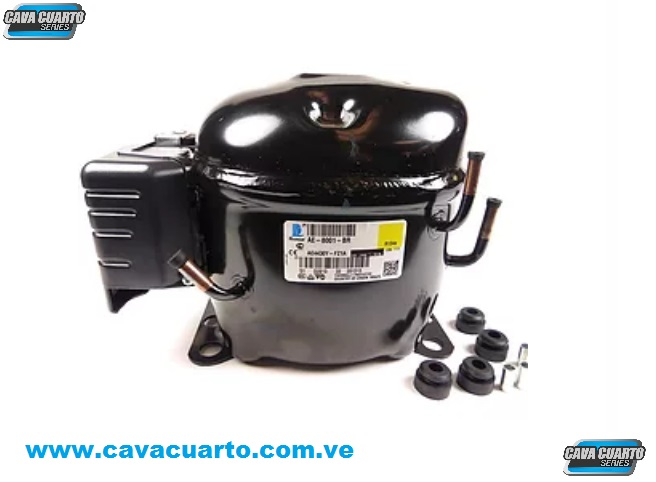 COMPRESOR TECUMSEH 1/4 HP 110V KIT CONGELACIÓN