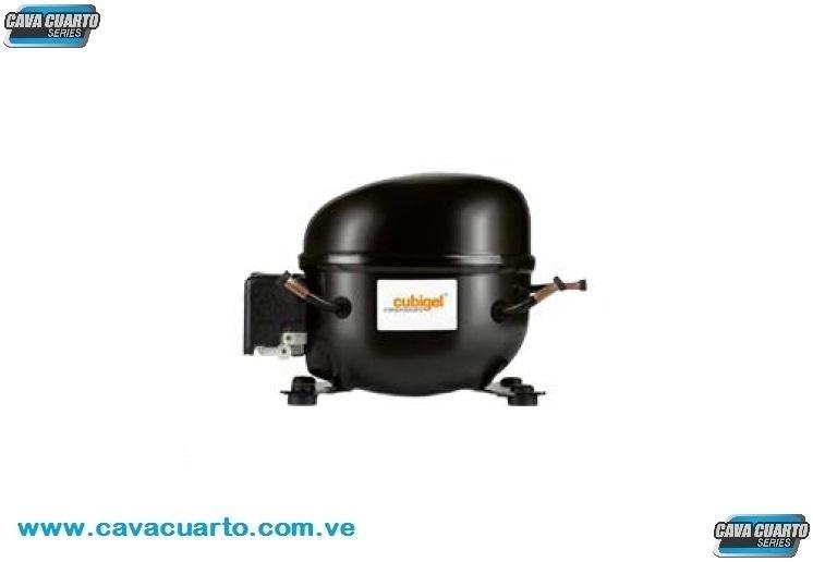 COMPRESOR DOMESTICO SELLADO 1/6 HP 1636 BTU/h R-134a 110V - CUBIGEL