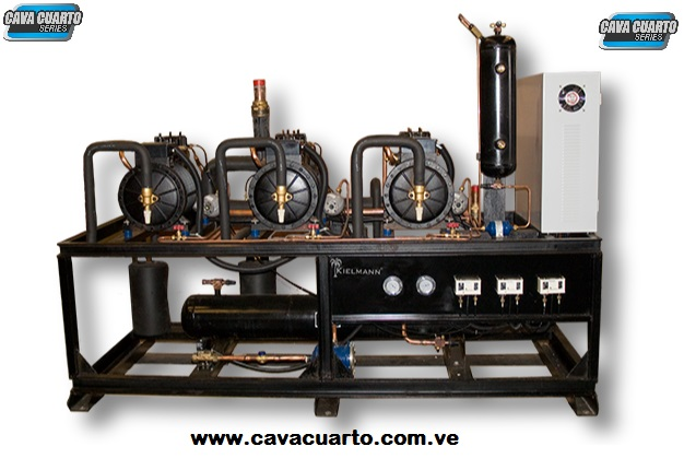 UNIDADES CONDENSADORAS TIPO RACK 24 HP A 80 HP KIELMANN