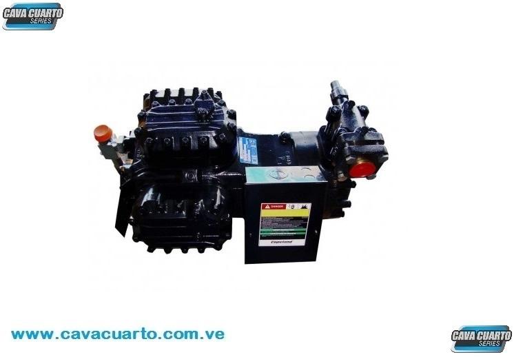COMPRESOR COPELAND DISCUS 6D SEMI-SELLADO 35Hp - R22/ R404/ 230v/460v