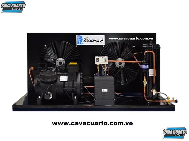 UNIDAD CONDENSADORA 5HP TECUMSEH R22 / R404 SEMI-HERMETICO