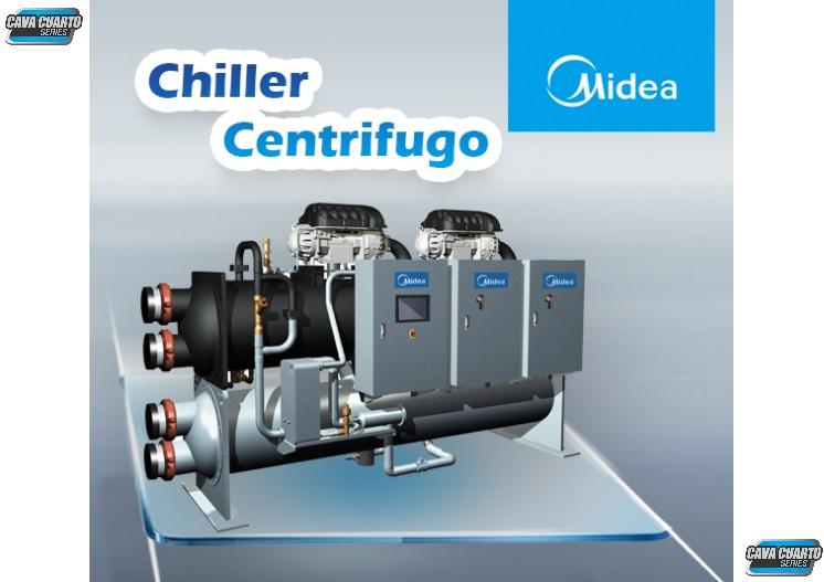 CHILLER CENTRIFUGO UNIDAD EXTERNA / AGUA HELADA / 500 A 2200 TR