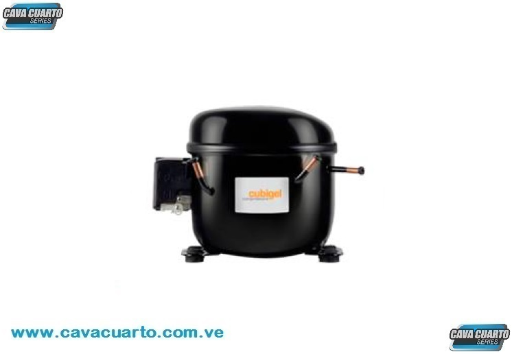 COMPRESOR DOMESTICO SELLADO 1/3 + HP 4143 BTU/h R-134a 110V - CUBIGEL