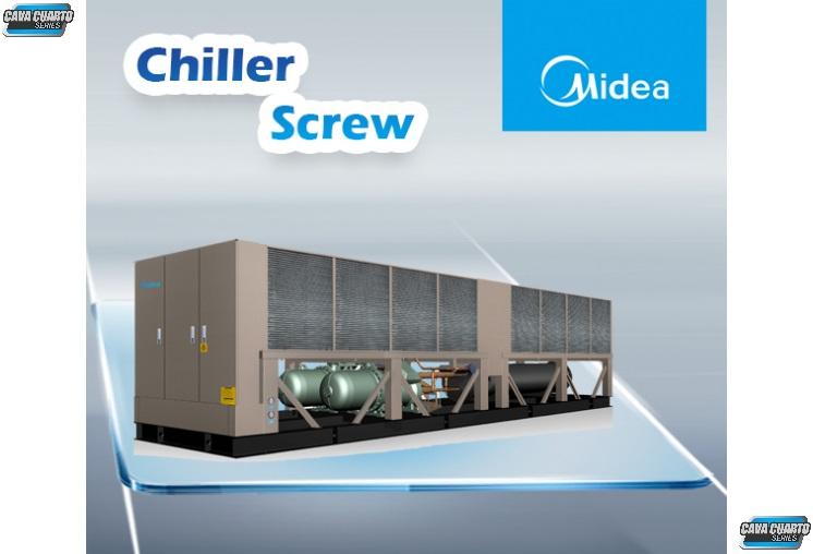 CHILLER SCREW UNIDAD EXTERNA / AGUA HELADA / 108 A 403 TR