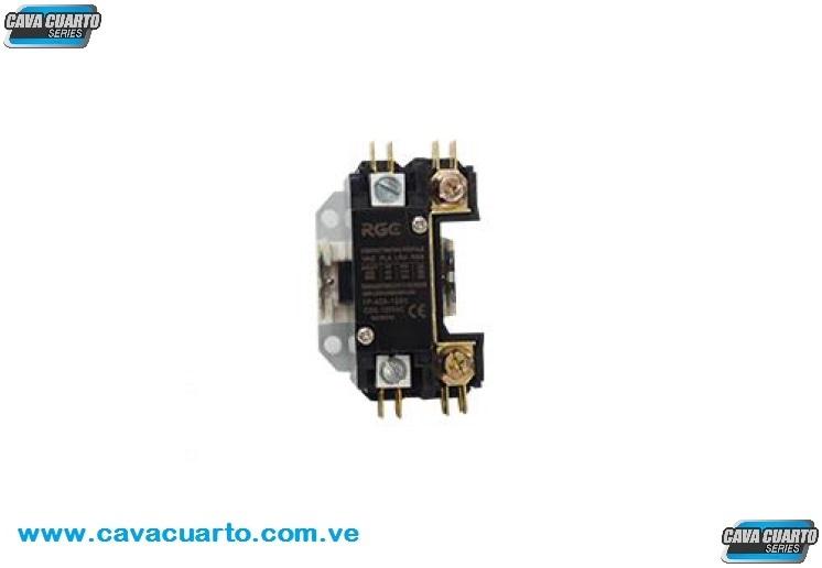 CONTACTOR 1 POLO 40 AMPS COIL 120V 60Hz - RGC - CONTACTORES BOBINAS 110v