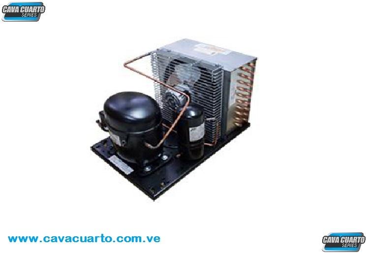 UNIDAD CONDENSADORA 1/2 HP 3056 BTU R-404a 220v 60Hz RECEPTOR LIQUIDO