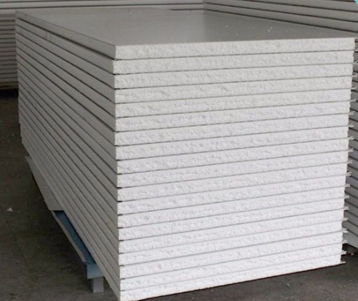 PANEL DE POLIESTIRENO / EPS - PVC BLANCO 3.3mm