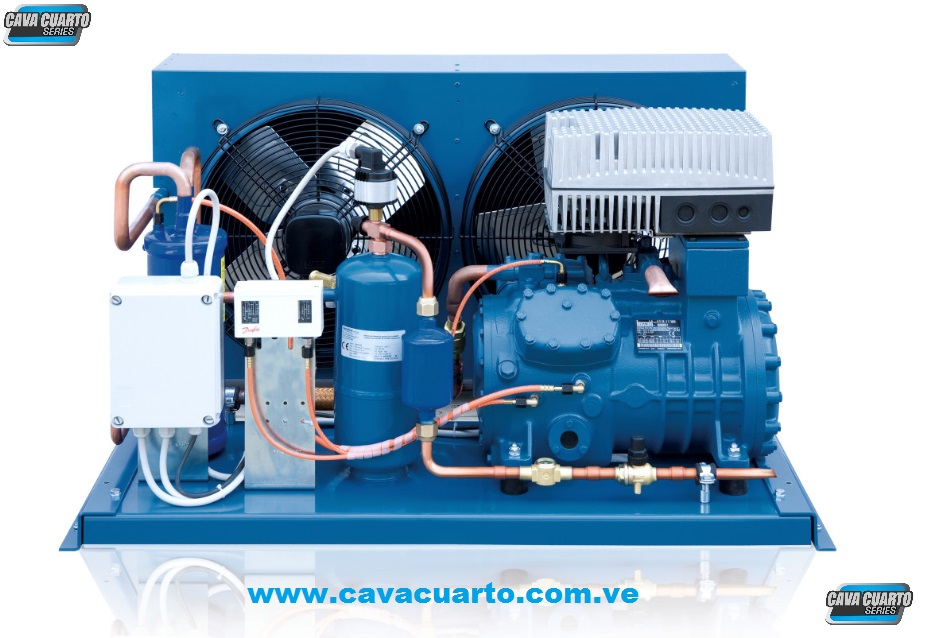 UNIDAD CONDENSADORA 3HP FRASCOLD R404 SEMI-HERMETICO