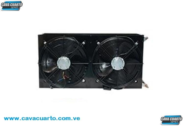 CONDENSADOR 2 HP 26939 BTU CON 2 VENTILADOR AXIAL 14 PULG 220v RGC